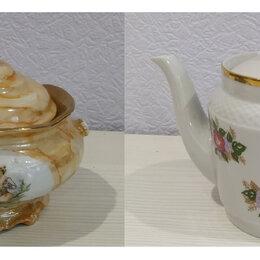 Заварочные чайники - Чайник заварочный новый и сахарница, 0