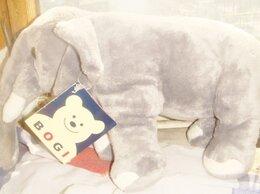 Мягкие игрушки - Слон плюшевый Финляндия винтаж 90х, 0