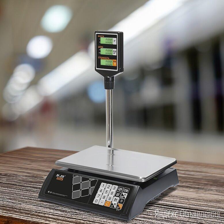 """Весы Mertech M-ER 327 ACP-15.2 """"Ceed"""" Черные по цене 4400₽ - Весы, фото 0"""