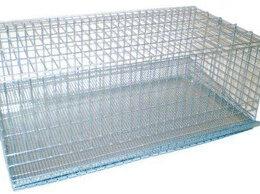 Клетки и домики - Клетка металлическая оцинкованная с выдвижным…, 0