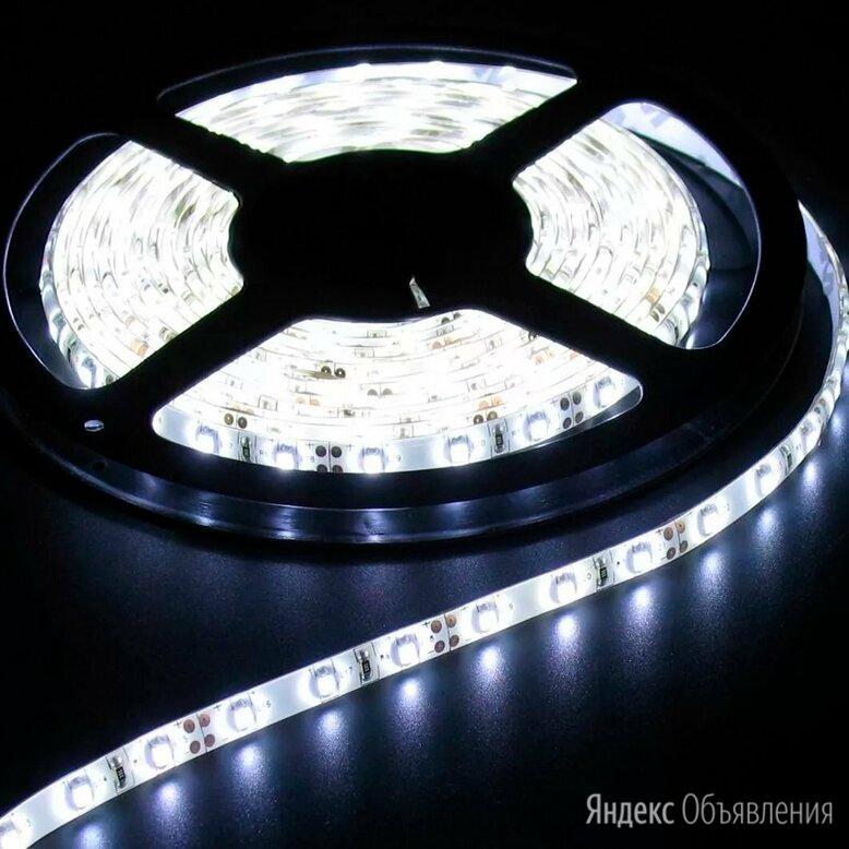 Светодиодная лента Белая влагозащищённая 12 В, 4,8Вт/м, smd 3528, 60 Led, IP65 по цене 45₽ - Светодиодные ленты, фото 0