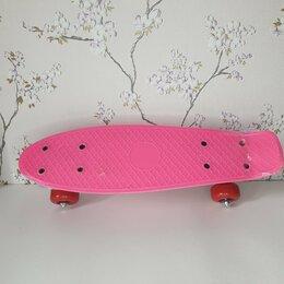 Скейтборды и лонгборды - Пениборд(розовый), 0