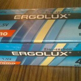 Батарейки - Коробка солевых батареек аа Эрголюкс промо 40 шт., 0