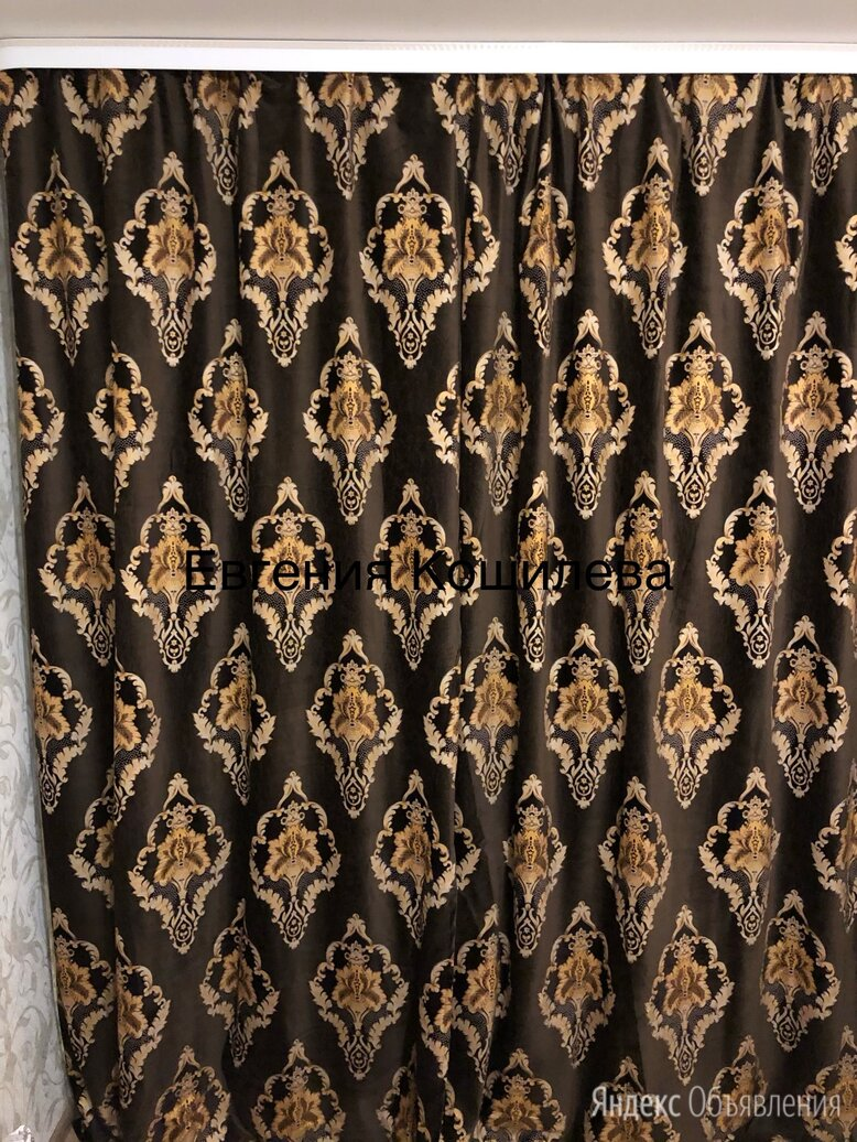 шторы бархатные 300*260 по цене 2800₽ - Шторы, фото 0