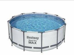 Бассейны - BestWay 56420(366х122, лестница, фильтр, тент)…, 0