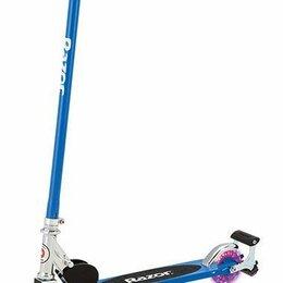 Самокаты - Самокат Razor (Разор) S Spark Scooter, синий, 0