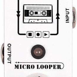 Процессоры и педали эффектов - Mooer Micro Looper мини-педаль Looper, 0