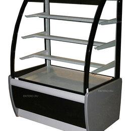 Холодильные витрины - Витрина кондитерская Carboma K70 VM 1,3-1 (ВХСв - 1,3д Техно), 0