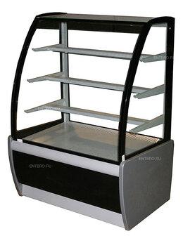 Холодильные витрины - Витрина кондитерская Carboma K70 VM 1,3-1 (ВХСв…, 0