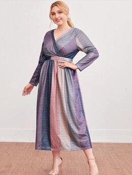 Платья - Платье вечернее длинное блестящее 50-52 рр новое, 0
