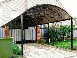 Готовые строения - Навесы из поликарбоната, 0