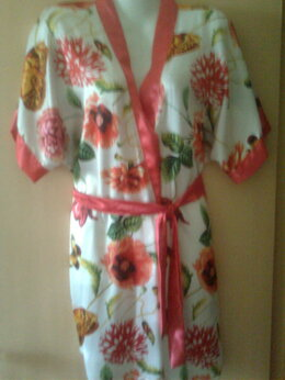 Домашняя одежда - Халат-кимоно, 0