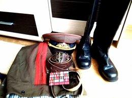 Военные вещи - Сапоги генеральские 42размер, фуражка, портупея и, 0