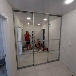 Шкафы, стенки, гарнитуры - Встроенный шкаф купе с зеркальными дверями, 0
