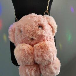 Клатчи - Меховая Сумочка Медвежонок, 0