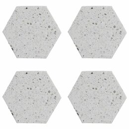 Подставки и держатели - Подставки из камня серые 4 штуки 10 см Elements…, 0