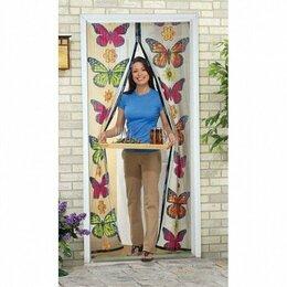 Сетки и решетки - Москитная сетка с бабочками - Magic Mesh Butterfly, 18 магнитов, 0