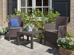 Комплекты садовой мебели - Садовая мебель Rosario Balcony Set коричневый, 0