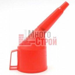 Лабораторное и испытательное оборудование - Воронка пластик. D 80 мм c удлиненным носиком 35 см., 0