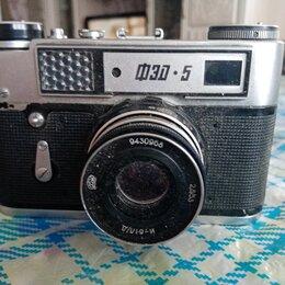 Пленочные фотоаппараты - Фотоаппарат ФЕД-5 на запчасти, 0