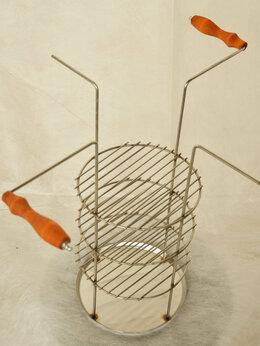 Тандыры - Решётка четырехъярусная с деревянными ручками, 0