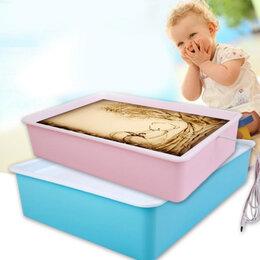 Рисование - Стол рисуй песком 40*28*8cm(треснут стол снизу), 0