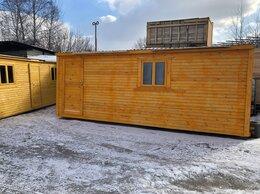 Готовые строения - Бытовка новая деревянная 6м А-178, 0
