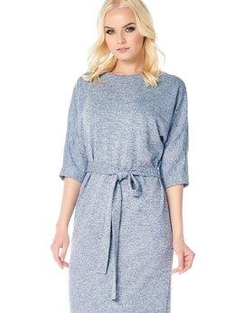 Платья - Стильное платье с пуговицами на спине, 0