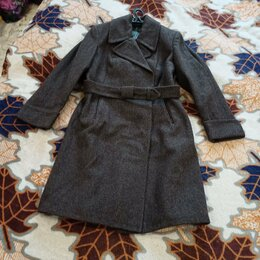 Пальто - шинель военная женская, 0