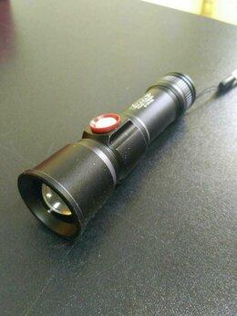 Фонари - Ручной фонарь аккумуляторный H-779-P50 (USB), 0