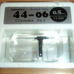 Аксессуары для проигрывателей виниловых дисков - Columbia JTS-5 (44-06) / Denon - новая вставка. Nagaoka. Япония, 0