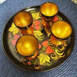 Сервизы и наборы - Набор посуды с хохломской росписью. Вариант 3, 0