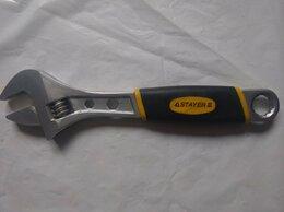 Сантехнические, разводные ключи - Разводной ключ Stayer 250 мм, 0