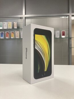 Мобильные телефоны - iPhone SE 2020 256gb Black A2296 Ростест, 0