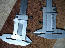 Измерительные инструменты и приборы - Штангенциркули СССР  ЧИЗ 533108 и R 396445 В…, 0