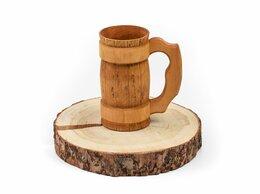 Кружки, блюдца и пары - Кружка деревянная для пива 0,7 л, 0