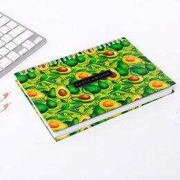 Канцелярские принадлежности - Альбом для маркеров Sketchbook avocado, А5, 80 л., 0