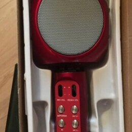 Микрофоны и усилители голоса - Караоке микрофон , 0