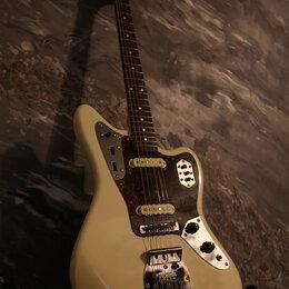 Электрогитары и бас-гитары - Fender Jaguar Olympic White (Japan) - Обмены, 0