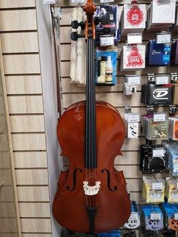 Смычковые инструменты - Новая виолончель Fabio F-019 c чехлом, 0