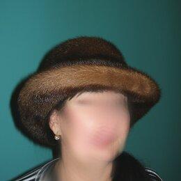 Головные уборы - Норковая шляпа с полями. Новая. Эксклюзив, 0