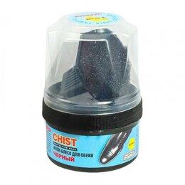 Косметика и чистящие средства - Крем-блеск для обуви CHIST черный, 0