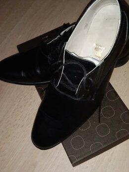 Ботинки - Мужские кожаные ботинки, 42 размера., 0