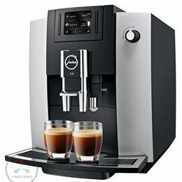 Кофеварки и кофемашины - Кофемашина Jura E6 Platin (15058), 0