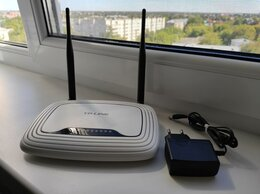 Оборудование Wi-Fi и Bluetooth - Роутер TP-Link TL-WR841ND(RU), 0