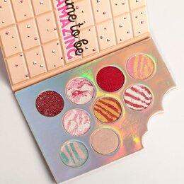 Для глаз - Палетка теней для век Llamazing Chocolate, 9 потрясающих оттенков 4827887, 0