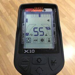 Металлоискатели - Металлоискатель Deteknix Quest X10, 0