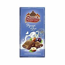Продукты - Шоколад Россия Очень молочный с фундуком и…, 0