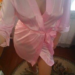Домашняя одежда - Халат женский розовый, 0