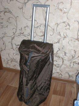 Дорожные и спортивные сумки - Сумка на колесах багажная, среднего объема., 0